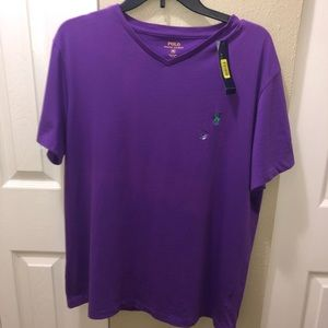 Polo v neck shirt